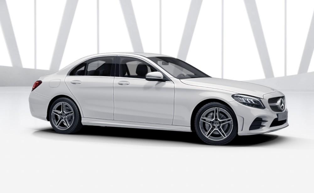 Thiết kế ngoại thất của Mercedes-Benz C 180 AMG.
