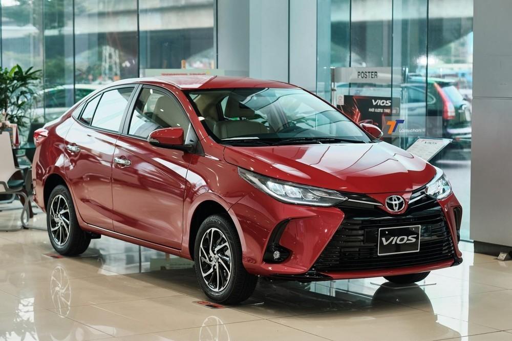 Giá lăn bánh Toyota Vios G 2021