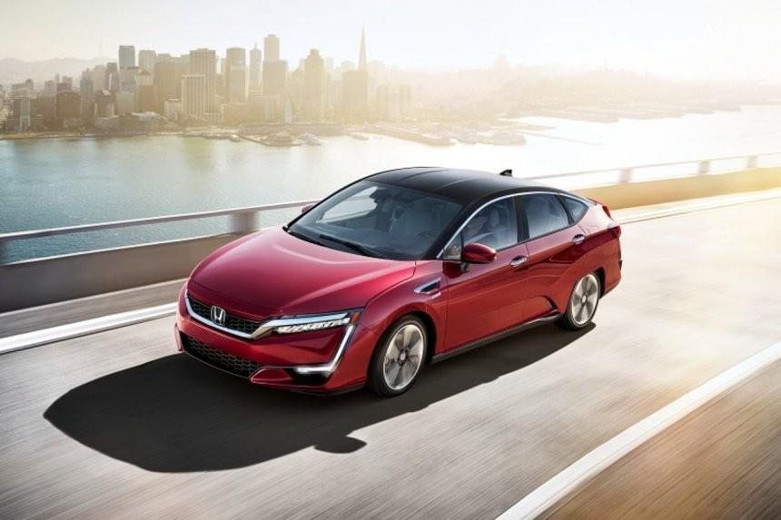 Honda Clarity là ô tô chạy bằng pin nhiên liệu hyđrô