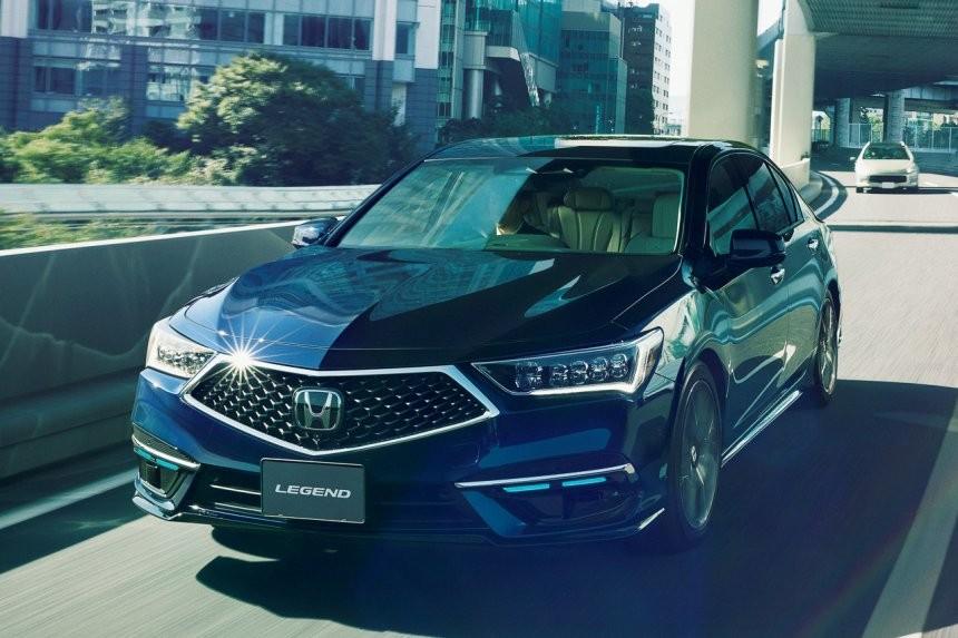 Honda Legend có hệ thống lái bán tự động cấp độ 3 chỉ có số lượng sản xuất đúng 100 chiếc và dùng để cho thuê
