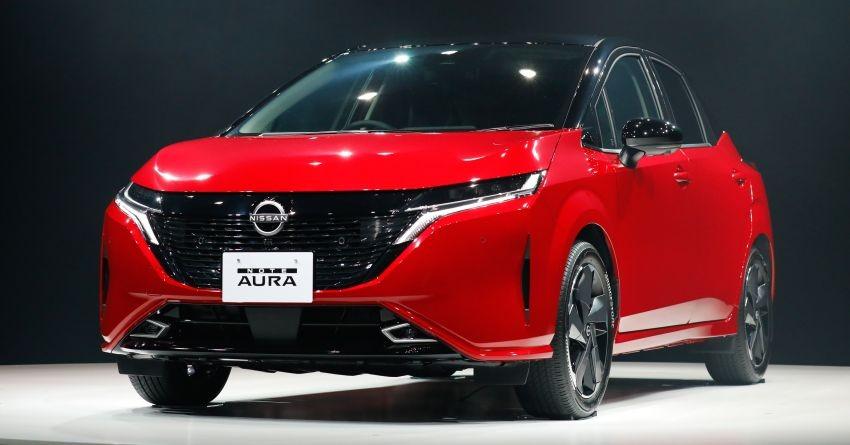 Cận cảnh thiết kế đầu xe của Nissan Note Aura 2022