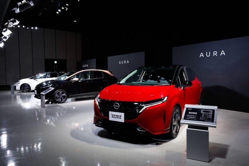 3 màu sơn khác nhau của Nissan Note Aura 2022