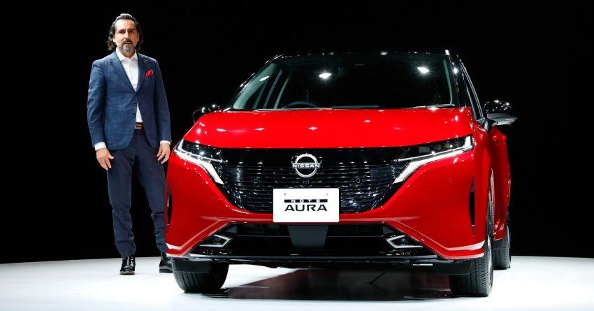 Nissan Note Aura 2022 mới ra mắt tại thị trường Nhật Bản