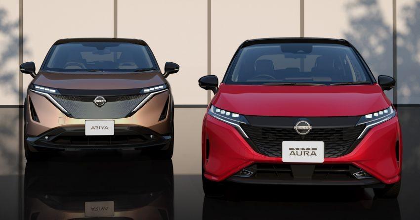 Nissan Note Aura 2022 là phiên bản thương mại của xe concept Ariya