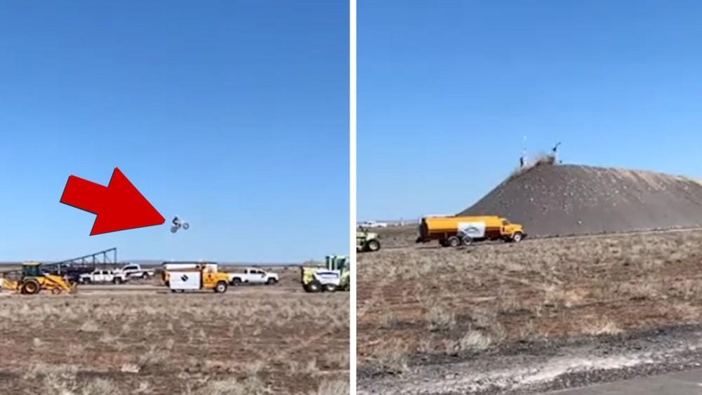 Thảm họa xảy ra tại sân tập với đường bay gần 50 mét đã khiến rider này tử vong
