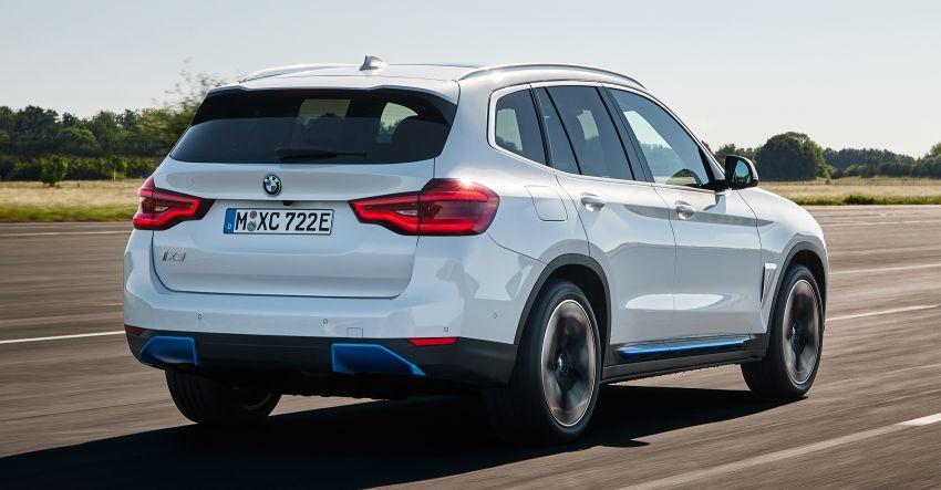 BMW iX3 2022 chỉ có 1 mô-tơ điện nằm trên cầu sau