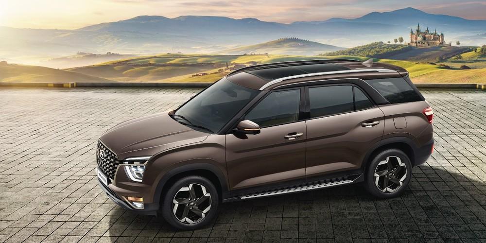 Hyundai Alcazar 2021 là phiên bản 3 hàng ghế mới của Creta