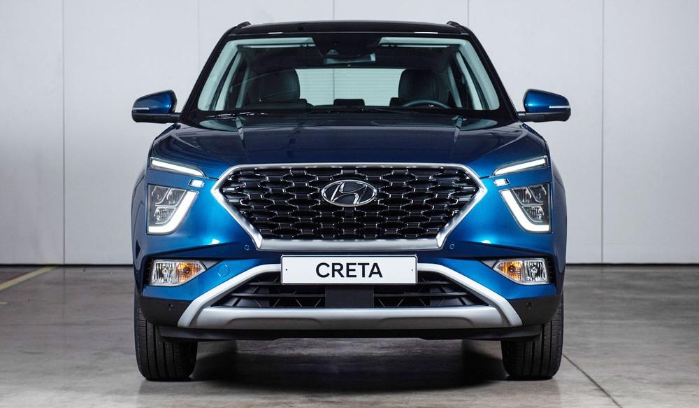 Hyundai Creta 2021 có kích thước lớn hơn thế hệ cũ