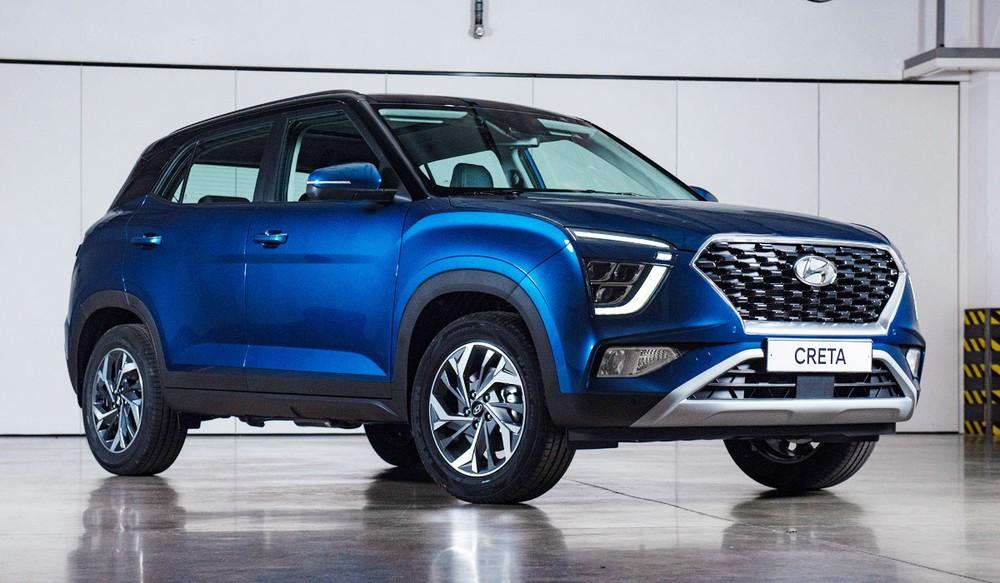 Hyundai Creta 2021 dành cho thị trường Nga
