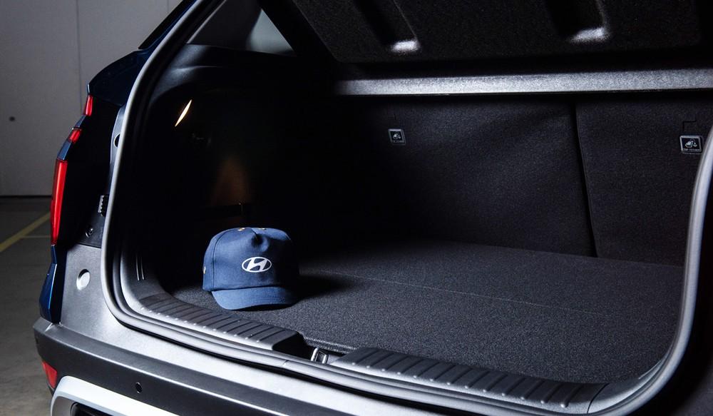 Khoang hành lý của Hyundai Creta 2021 tăng thể tích từ 402 lít lên 433 lít