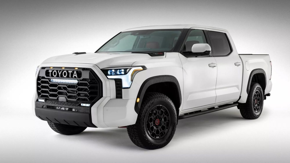 Hình ảnh chính thức của Toyota Tundra TRD Pro 2022 do thương hiệu Nhật Bản tung ra