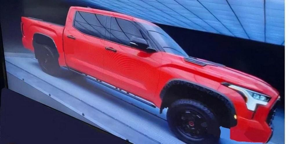 Thiết kế bên sườn của Toyota Tundra TRD Pro 2022