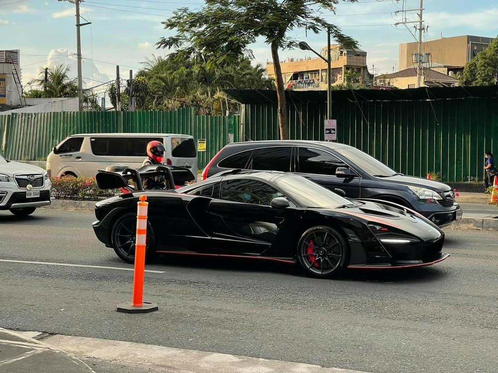 McLaren Senna trên đường phố Philippines vào tháng 5