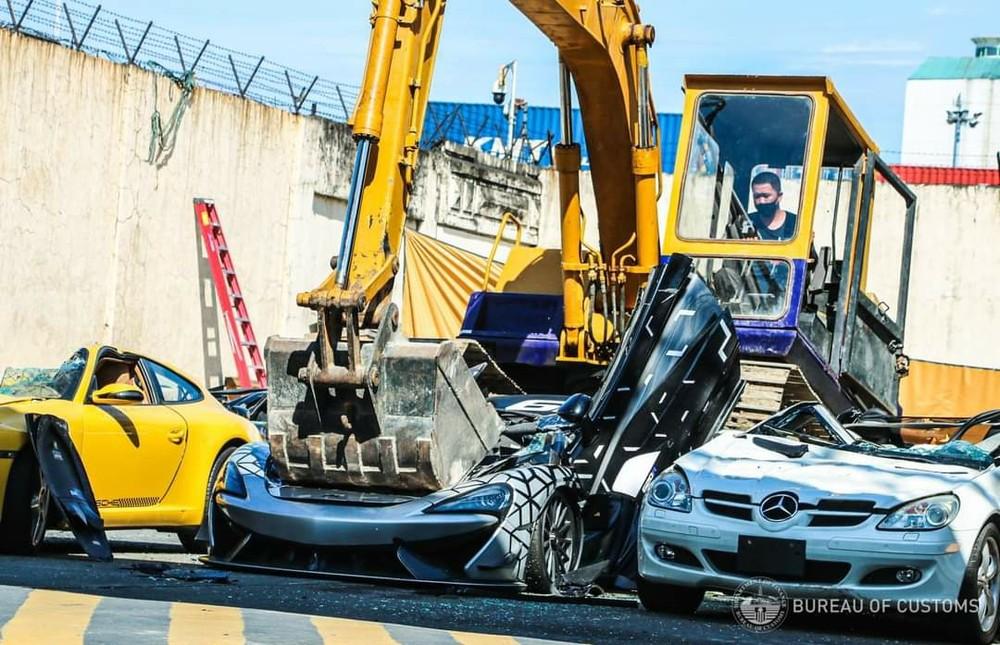 Chiếc siêu xe McLaren 620R đã nhận án tử sau gần 1 năm nhập lậu vào Philippines