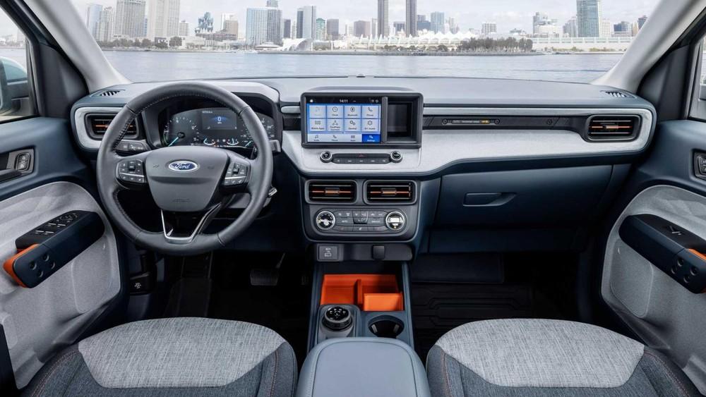 Nội thất bên trong Ford Maverick 2022