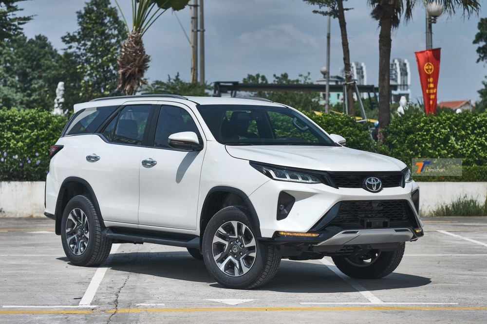 Giá lăn bánh Toyota Fortuner Legender 2021