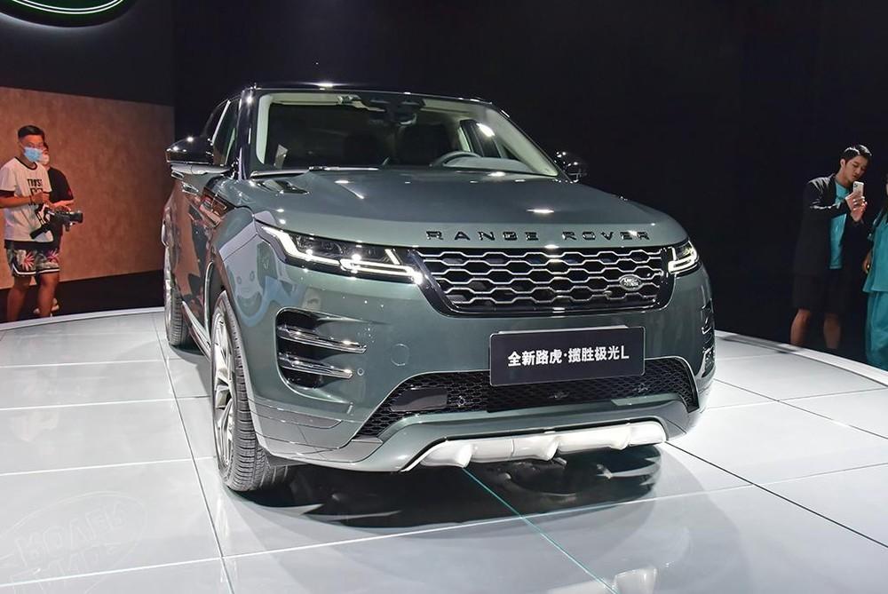 Range Rover Evoque L 2021 sở hữu thiết kế về cơ bản là giống bản thường