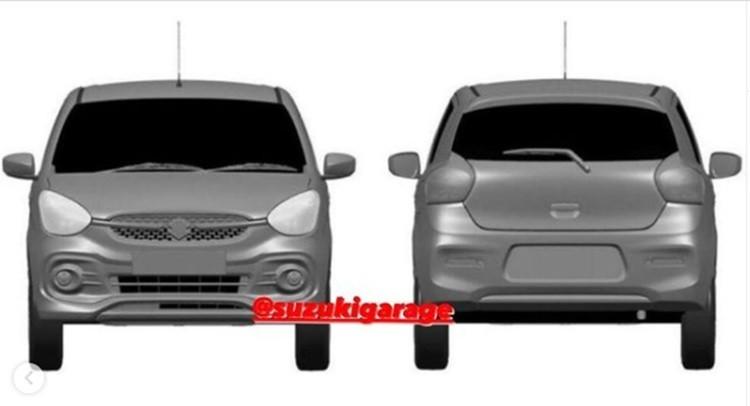 Hình ảnh rò rỉ của Suzuki Celerio thế hệ mới