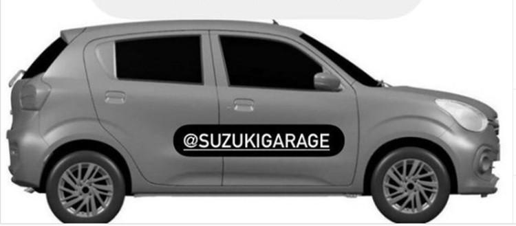 Thiết kế bên sườn của Suzuki Celerio mới