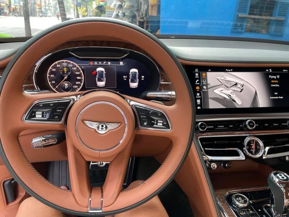 Vô lăng Bentley Flying Spur First Edition