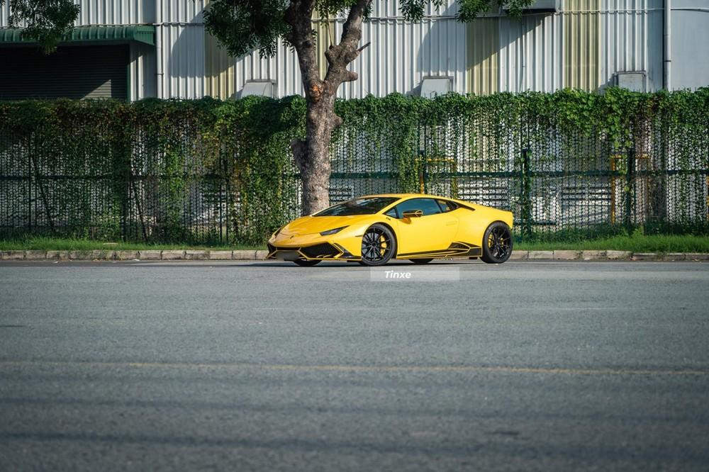Siêu xe Lamborghini Huracan độ độc nhất Việt Nam của drifter lão luyện trong nước