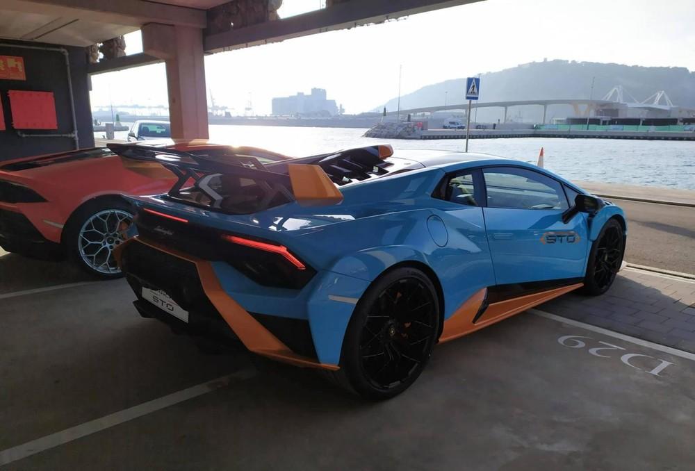 STO là siêu xe mới nhất của gia đình Lamborghini Huracan