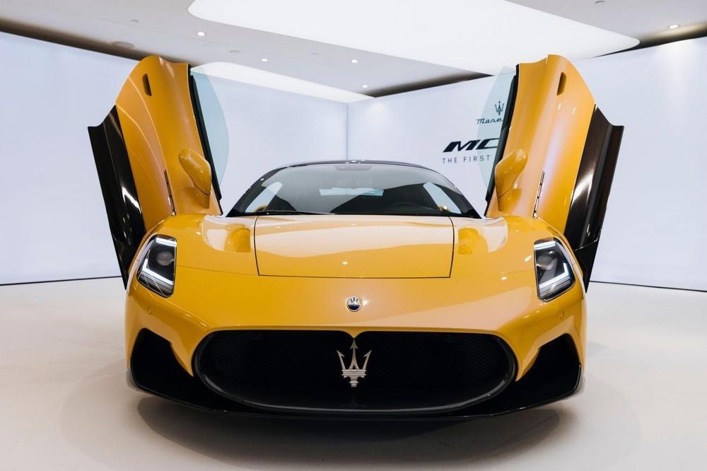 Rộ tin đồn siêu xe Maserati MC20 sẽ cập bến Việt Nam trong năm nay
