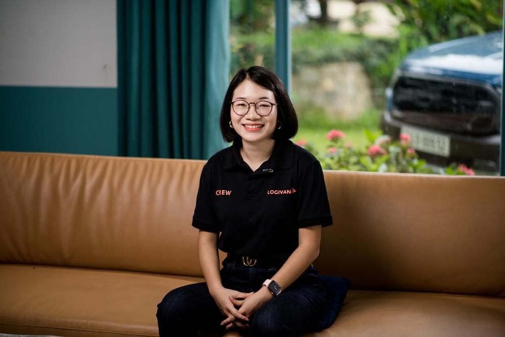 Chị Phạm Khánh Linh - Nhà sáng lập/CEO Logivan