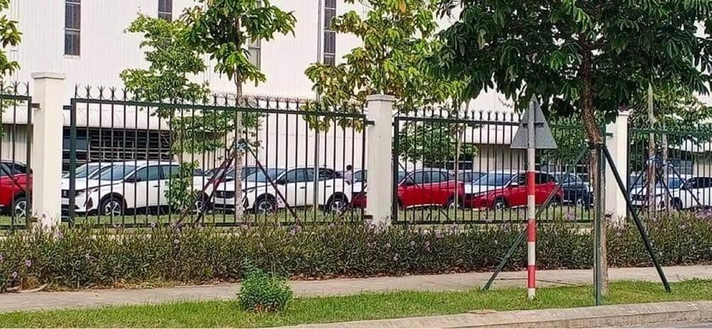 Peugeot 3008 2021 bị bắt gặp trong khuôn viên nhà máy lắp ráp của THACO đặt tại Chu Lai, Quảng Nam.