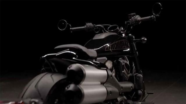 Thiết kế lạ mắt đầy hấp dẫn của Harley-Davidson Custom 1250