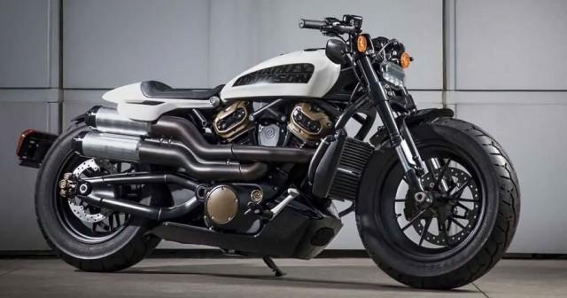 Bản concept Harley-Davidson Custom 1250 từng được ra mắt trước đây