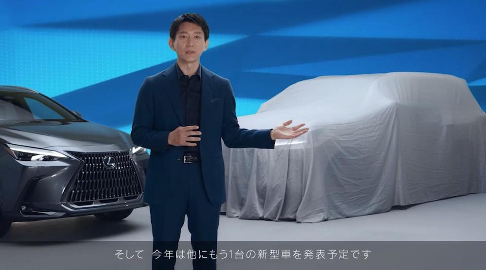 Mẫu xe trùm bạt này được cho là Lexus NX thế hệ mới