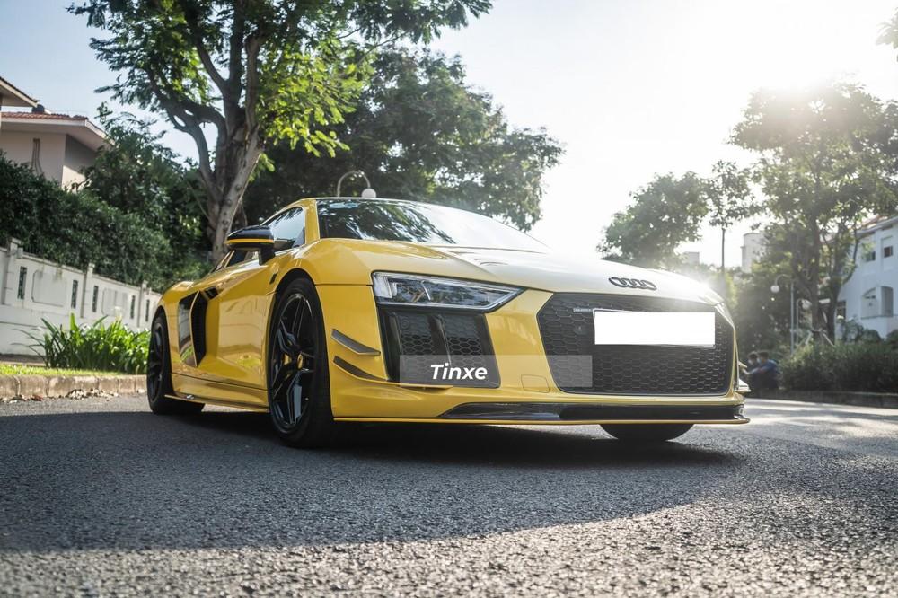 Diện mạo siêu xe Audi R8 V10 PLus cá tính của ông chủ xưởng độ xe tại Sài thành