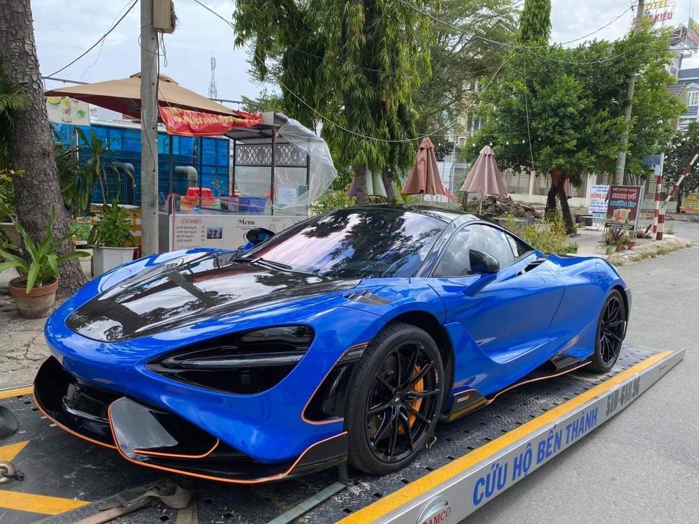 Đại gia lan đột biến rước McLaren 765LT về lại mái nhà xưa ngay khi đăng ảnh sắp đón Lamborghini Aventador SVJ giới hạn màu siêu độc về garage