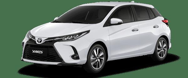 Giá xe Yaris 2021 màu trắng: 668.000.000 VNĐ