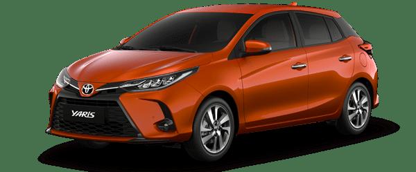 Giá xe Yaris 2021 màu cam: 668.000.000 VNĐ