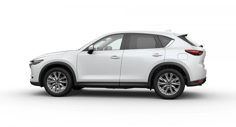 Mazda CX-5 màu trắng