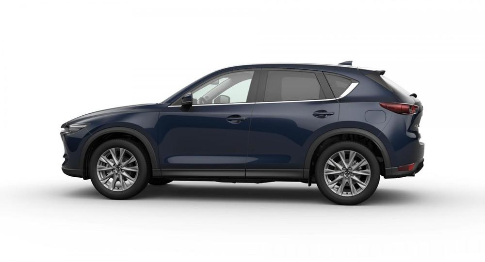 Mazda CX-5 màu xanh đậm