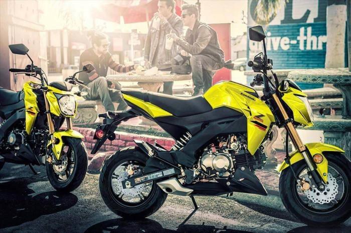 Kawasaki Z125 Pro 2022