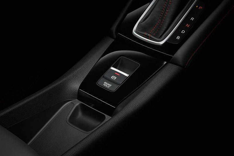 Honda City Hatchback e:HEV RS có phanh đỗ xe điện tử