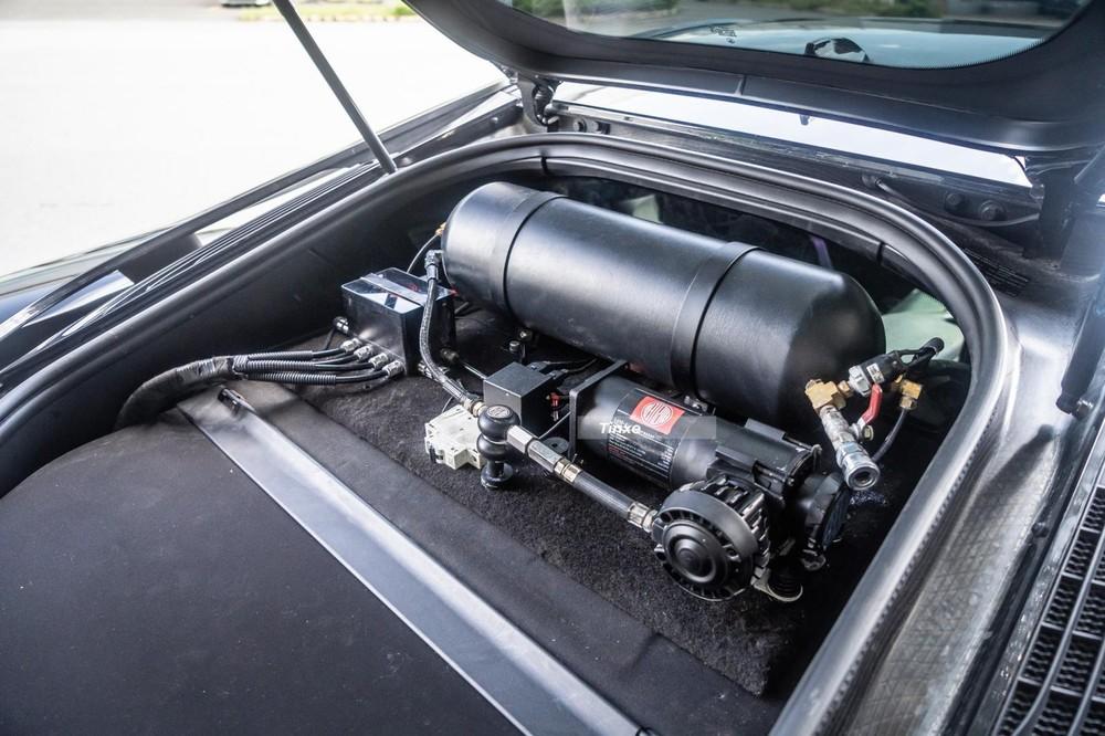 Xe có hệ thống treo khí nén Airllen