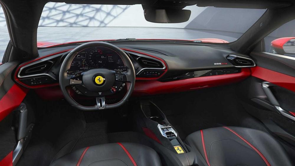 Cách phối màu của Ferrari 296 GTB tiêu chuẩn