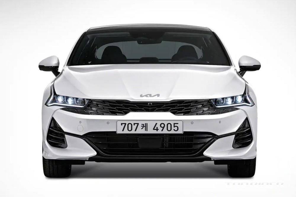 Kia K5 Hybrid 2022 có thêm mắt lưới tản nhiệt mới