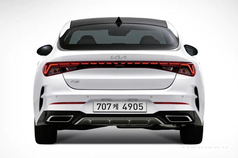 Kia K5 2022 tăng giá nhẹ tại Hàn Quốc