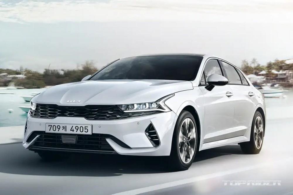 Kia K5 2022 ra mắt thị trường Hàn Quốc
