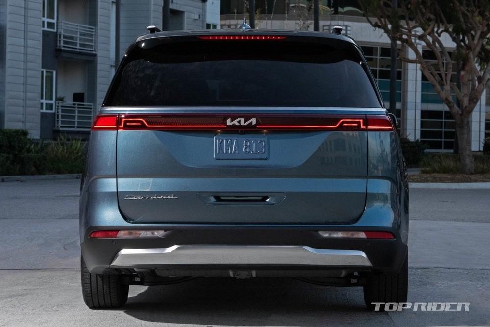 Kia Sedona 2022 có nhiều cảm biến đỗ xe hơn trước