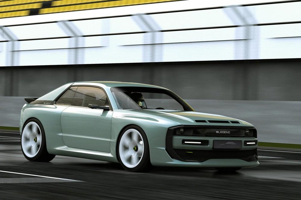 E-Legend EL1 là một mẫu xe điện thể thao với thiết kế lấy cảm hứng từ Audi Sport Quattro S1