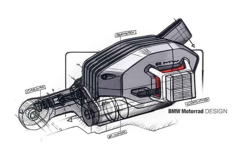 Bản vẽ về bộ truyền động trục đặc biệt vừa được BMW đăng ký bản quyền tại Châu Âu