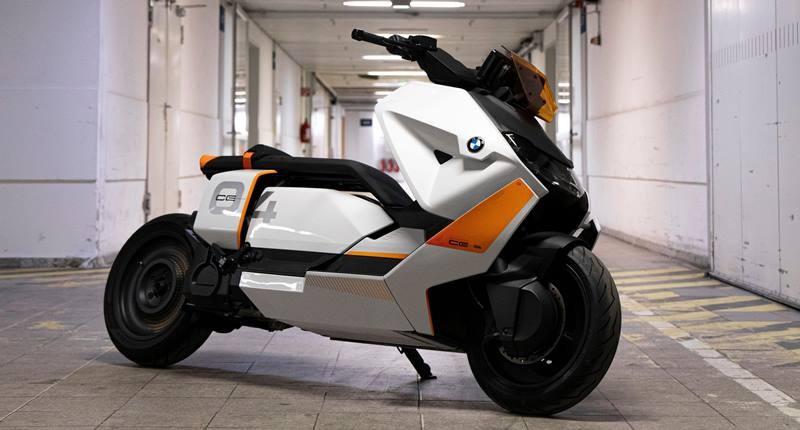 Thiết kế tuyệt vời của concept xe điện BMW CE 04