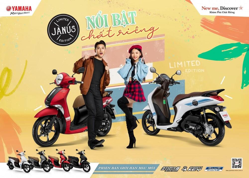Yamaha Janus phiên bản giới hạn